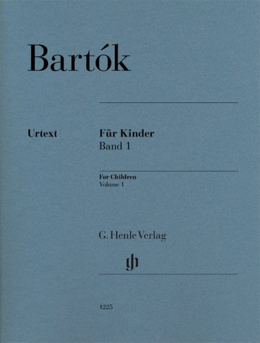 Bartok For Children Volume 1 - nuty na fortepian