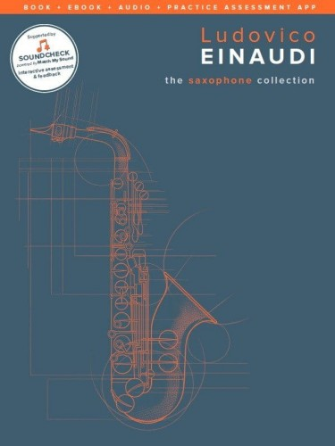 Ludovico Einaudi: The Saxophone Collection (+ audio online) - nuty na saksofon altowy z fortepianem