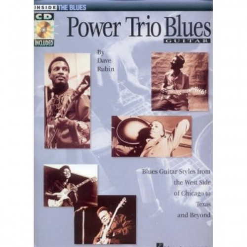 Power Trio Blues for Guitar - Dave Rubin