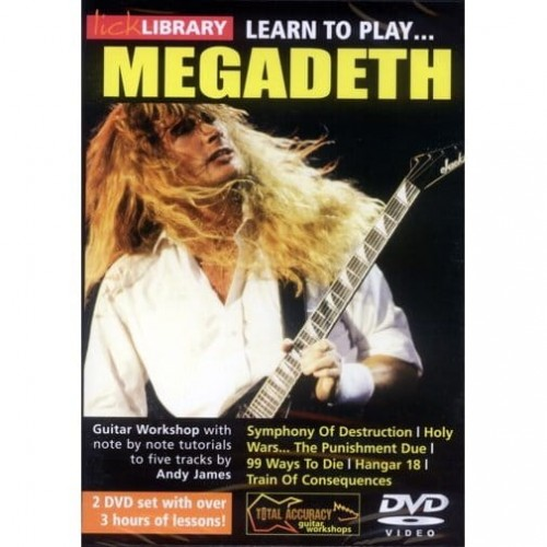 Lick Library - Learn To Play Megadeth