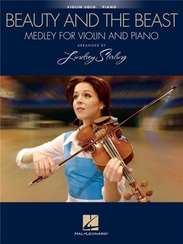 Lindsey Stirling: Beauty And The Beast Medley for Violin and Piano - nuty na skrzypce i fortepian