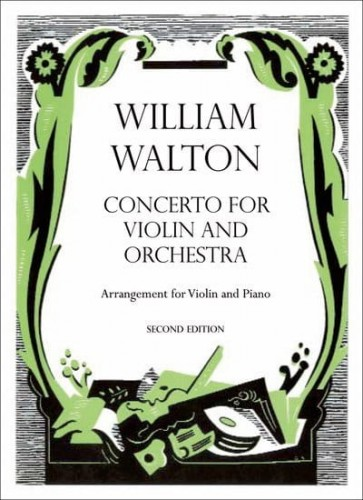 Walton: Concerto for Violin and Orchestra - nuty na skrzypce i fortepian