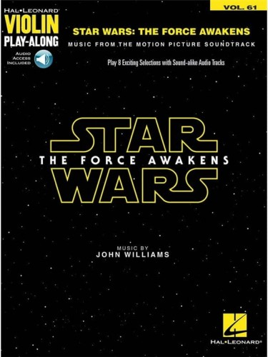 Star Wars: The Force Awakens - Violin Play-Along Volume 61 - John Williams - nuty na skrzypce (+ audio online)