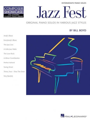 Composer Showcase: Bill Boyd - Jazz Fest - nuty na fortepian solo