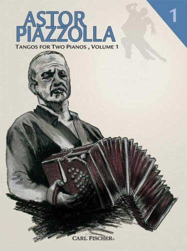 Astor Piazzolla: Tangos for Two Pianos 1 - nuty na dwa fortepiany