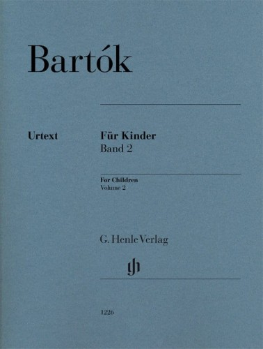 Bartok For Children Volume 2 - nuty na fortepian