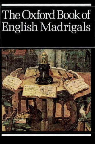 The Oxford Book of English Madrigals - nuty na chór SATB