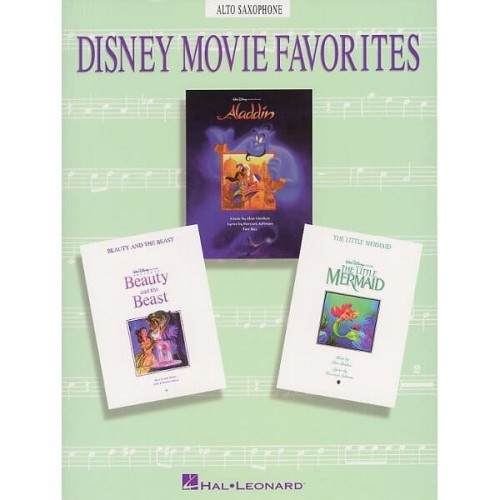 Disney Movie Favorites: Alto Saxophone - nuty na saksofon altowy