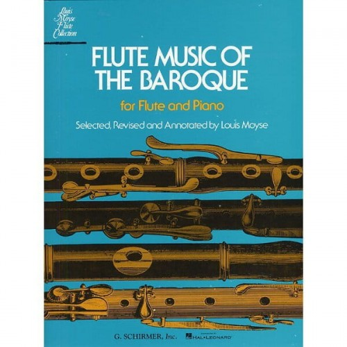 Flute Music Of The Baroque - Moyse - nuty na flet z fortepianem