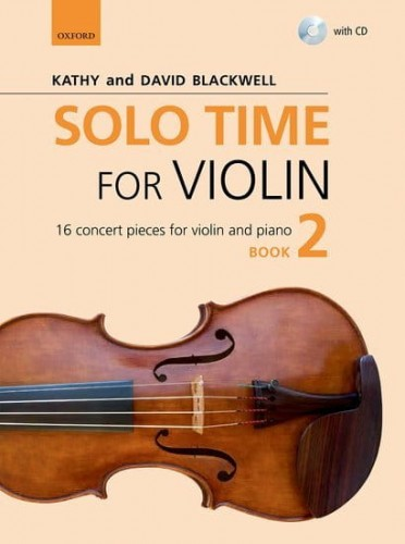 Solo Time for Violin Book 2 (+ płyta CD) - Blackwell - utwory koncertowe na skrzypce i fortepian
