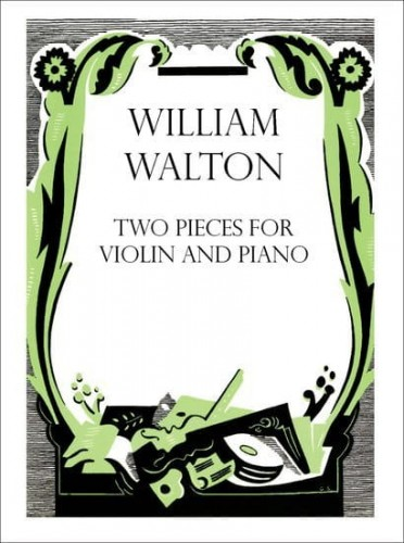 Walton: Two Pieces for Violin and Piano - nuty na skrzypce i fortepian