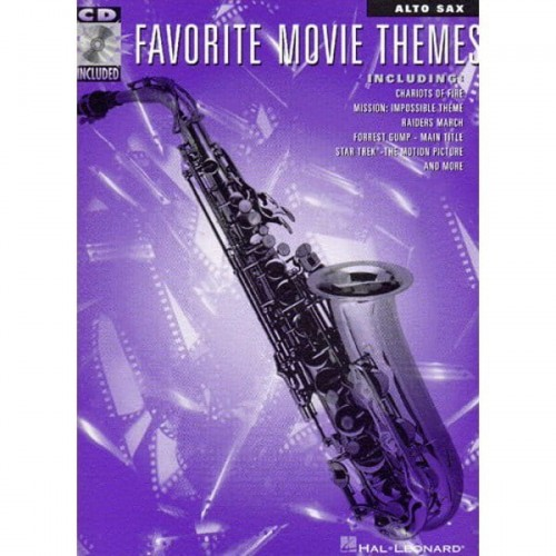 Favorite Movie Themes - Alto Sax - nuty na saksofon altowy (+ płyta CD)