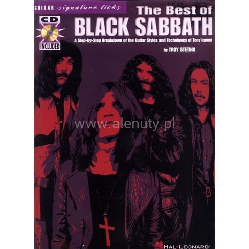 The Best of Black Sabbath - nuty i tabulatury na gitarę