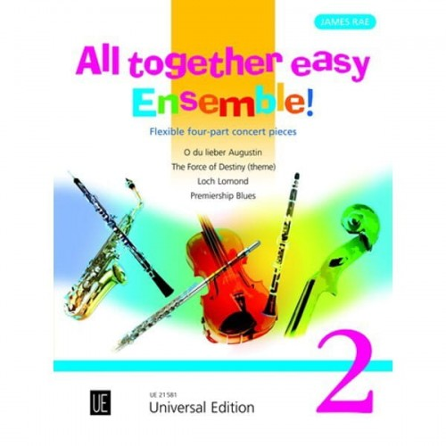 James Rae - All together easy ensemble 2 - utwory na kwartet o zmiennym składzie