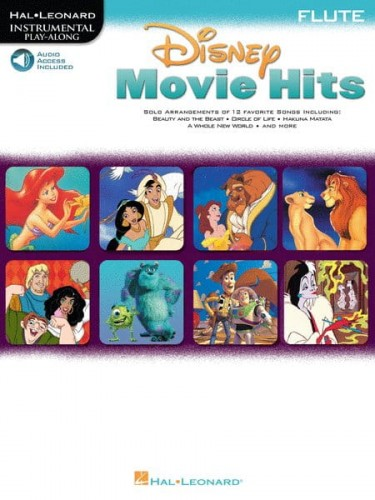Disney Movie Hits: Flute - nuty na flet poprzeczny + audio online