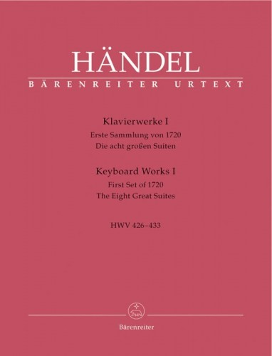 Handel: Keyboard Works Volume 1 HWV 426-433 - First Set of 1720. The Eight Great Suites - nuty na fortepian (klawesyn)