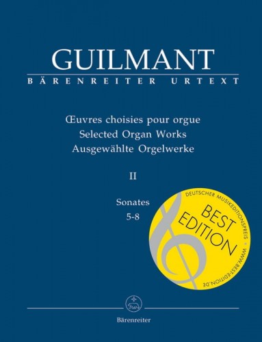 Guilmant: Selected Organ Works Volume 2 - Sonates 5-8 - nuty na organy