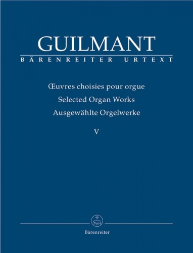 Guilmant: Selected Organ Works Volume 5 - Concert and Character Pieces 1 - nuty na organy