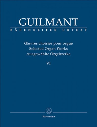 Guilmant: Selected Organ Works Volume 6 - Concert and Character Pieces 2 - nuty na organy