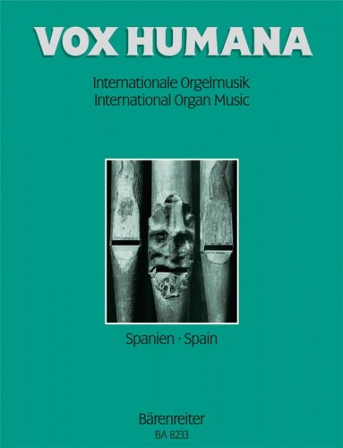 Vox humana: International organ music 3 - Spain - nuty na organy