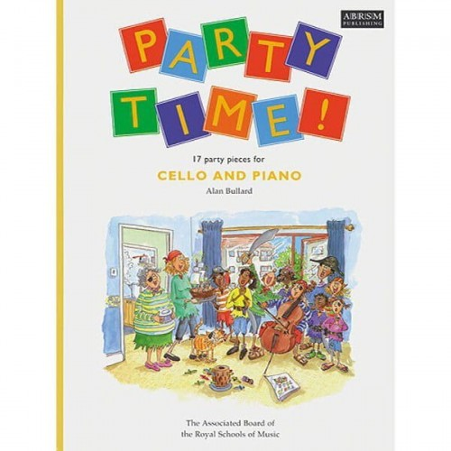 Party time - 17 party pieces for cello and piano - nuty na wiolonczelę z fortepianem