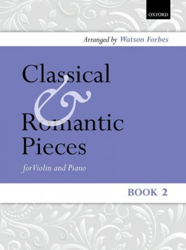 Classical and Romantic pieces for Violin 2 - nuty na skrzypce z fortepianem