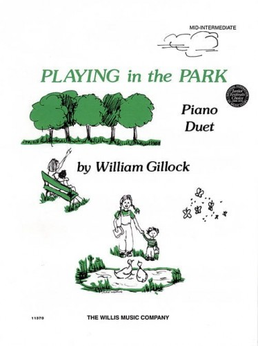 William Gillock: Playing In The Park - 1 Piano, 4 Hands - nuty na fortepian na cztery ręce