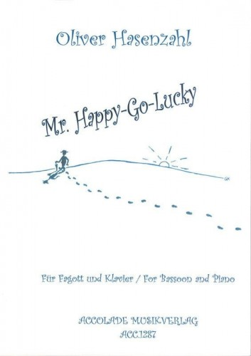 Hasenzahl: Mr. Happy-Go-Lucky for bassoon and piano - nuty na fagot i fortepian