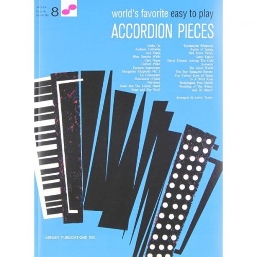 World's Favorite Easy to Play Accordion Pieces - nuty na akordeon