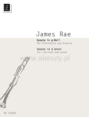 James Rae: Sonata in G minor for clarinet and piano - sonata g-moll na klarnet i fortepian