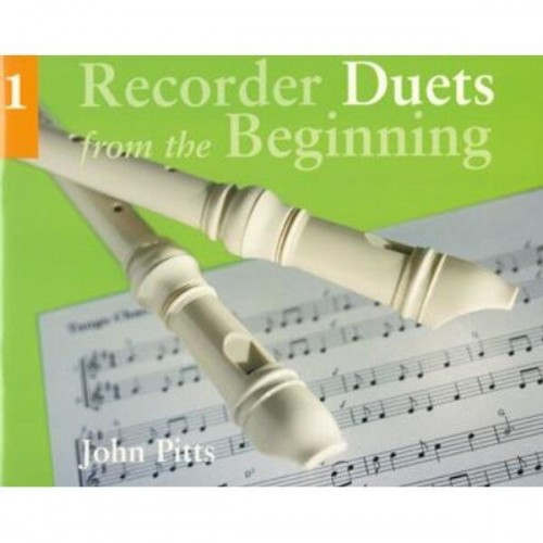 Recorder Duets from the Beginning 1 - John Pitts - nuty na dwa flety proste