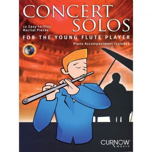 Concert Solos For The Young Flute Player (+ płyta CD) - 12 utworów koncertowych na flet