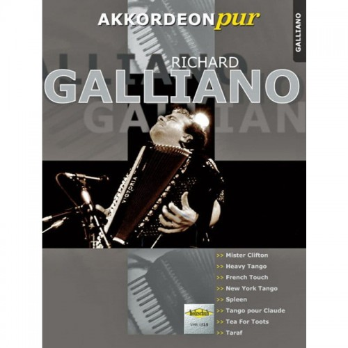 Akkordeon pur: Richard Galliano - nuty na akordeon
