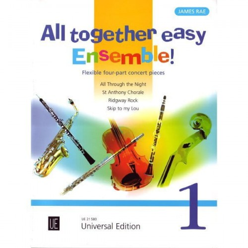 James Rae - All together easy ensemble 1 - utwory na kwartet o zmiennym składzie