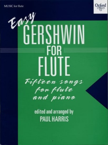 Easy Gershwin for Flute and Piano - nuty na flet poprzeczny i fortepian