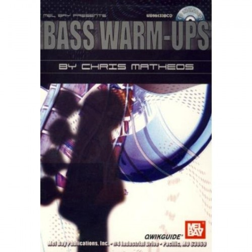 Qwikguide - Bass Warm-Ups (+ płyta CD) - Matheos