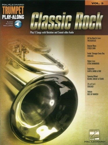 Classic Rock - Trumpet Play-Along Volume 3 - nuty na trąbkę (+ audio online)
