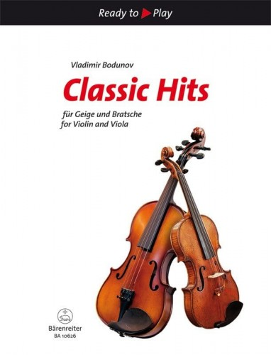 Ready to Play - Classic Hits for Violin and Viola - nuty na skrzypce i altówkę