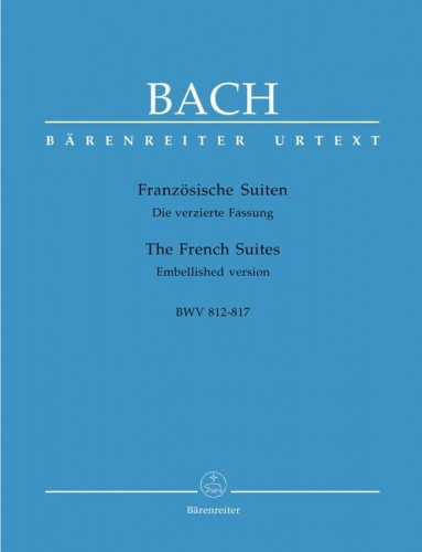 Bach J.S. - The Six French Suites BWV 812-817 - Suity francuskie - nuty na fortepian