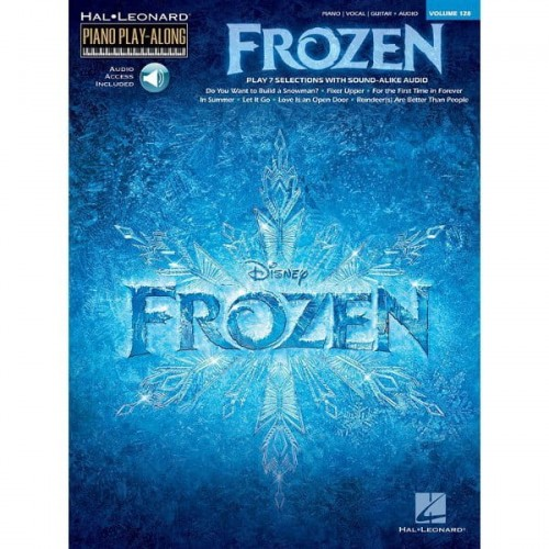 Piano Play-Along Volume 128: Frozen - nuty na fortepian (+ audio online)