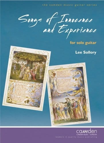 Lee Sollory: Songs of Innocence and Experience For Solo Guitar - nuty na gitarę klasyczną