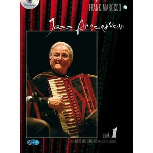 Frank Marocco: Jazz Accordion Volume 1 (+ płyta CD) - nuty na akordeon