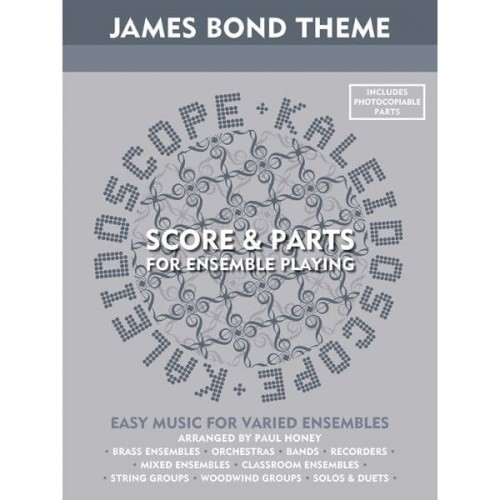 Kaleidoscope: James Bond Theme (Score & Parts for ensemble playing)