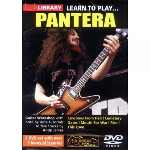 Lick Library - Learn To Play Pantera