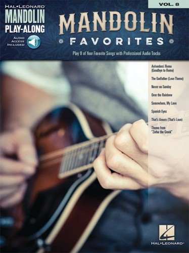 Mandolin Play-Along Volume 8: Mandolin Favorites - nuty i tabulatura na mandolinę (+ audio online)