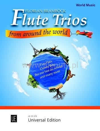 Flute Trios from around the World - nuty na tria fletowe