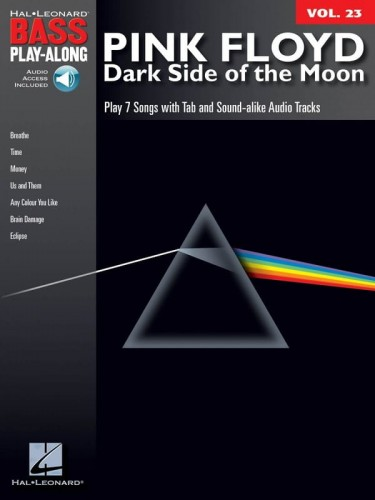 Bass Play-Along Volume 23: Pink Floyd - Dark Side of the Moon (+ audio online) - nuty i tabulatura na gitarę basową