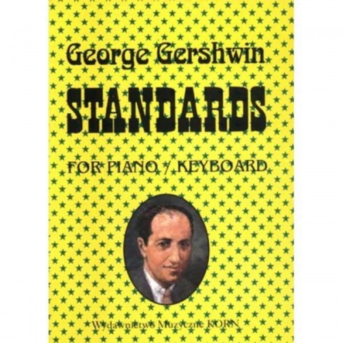 George Gershwin - Standards - nuty na fortepian lub keyboard