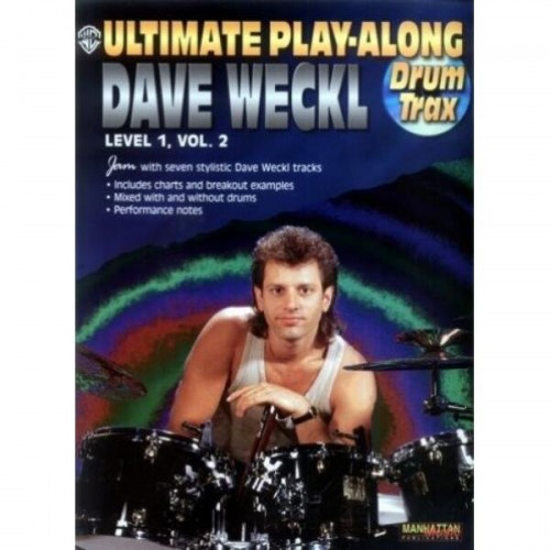 Ultimate Play-Along Dave Weckl - Level 1 Volume 2 (+ płyta CD) - nuty na perkusję