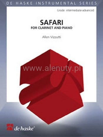 Allen Vizzutti: Safari for Clarinet and Piano - nuty na klarnet i fortepian